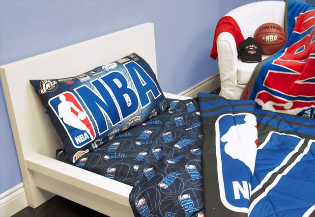 Exclusive NBA Collection Quilt 4 Pcs Twin Set Official